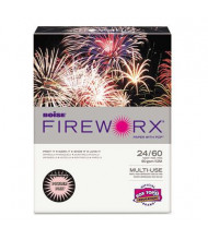 "Boise Fireworx 8-1/2"" x 11"", 24lb, 500-Sheets, Powder Pink Colored Printer Paper"
