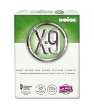 "Boise X-9 8-1/2"" x 11"", 20lb, 2500-Sheets, Jam-Free Copy Paper"