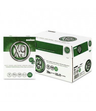 "Boise X-9 8-1/2"" x 11"", 20lb, 5000-Sheets, 3-Hole Punched Jam-Free Copy Paper"