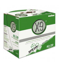 "Boise X-9 8-1/2"" x 11"", 20lb, 2500-Sheets, Splox Office Paper"