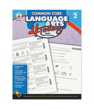 Carson-Dellosa Common Core 4 Today Language Arts Grade 2 Workbook, 96 Pages