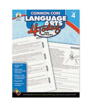 Carson-Dellosa Common Core 4 Today Language Arts Grade 4 Workbook, 96 Pages