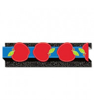"""Carson-Dellosa Pop-It 3"""" x 36"""" Apple Three-Dimensional Border, 8 Strips"""