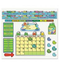 Carson-Dellosa FUNky Frog Calendar Bulletin Board Set