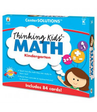 Carson-Dellosa CenterSOLUTIONS Grade K Thinking Kids Math Cards