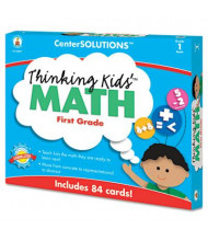 Carson-Dellosa CenterSOLUTIONS Grade 1 Thinking Kids Math Cards