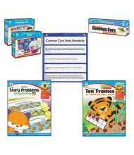 Carson-Dellosa Common Core Math & Language Arts Kindergarten Kit