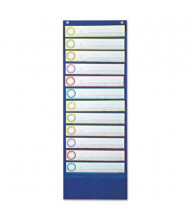 "Carson-Dellosa 13"" x 36"" 12-Pocket Deluxe Scheduling Chart"