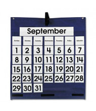 "Carson-Dellosa 25"" x 28-1/2"" 43-Pocket Monthly Calendar Chart with Day & Week Cards"