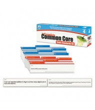 Carson-Dellosa Common Core Language Arts & Math Grade 4 Pocket Chart Cards
