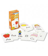 "Carson-Dellosa Alphabet Flash Cards, 3"" x 6"", 80/Pack"