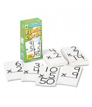 "Carson-Dellosa Multiplication Facts 0-12 Flash Cards, 3"" x 6"", 94/Pack"