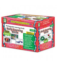 Carson-Dellosa Early Learning Skills Grades K-12 Photographic Learning Cards Boxed Set