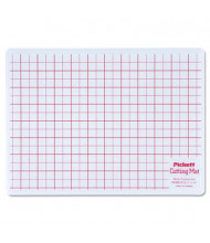 "Chartpak 8.5"" x 12"" Self-Healing Cutting Mat, White Translucent"