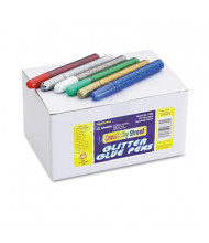 Chenille .34 oz Glitter Glue Pens, Assorted, 72/Pack