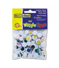 Creativity Street Wiggle Eyes Assortment, 100/Pack