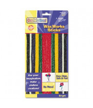 Creativity Street Wax Works Strips, Bright Hues Colors, 48/Pack