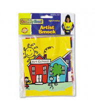 Creativity Street Vinyl Kraft Artist Smock, Fits Kids Ages 3-8, Bright Colors