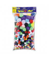 Creativity Street Pound of Poms Giant Bonus Pack, Assorted Colors & Sizes