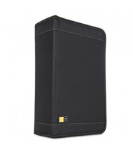 Case Logic 136-Capacity CD & DVD Nylon Wallet, Black