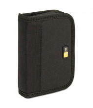 Case Logic 6-Capacity USB Drive Media Shuttle Case, Black