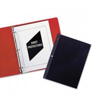 "C-Line 8-1/2"" x 11"" Standard Poly Sheet Protectors, 50/Box"