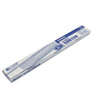 C-Line Letter Plastic Indexed Sorter, Blue