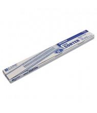 C-Line Letter Plastic Indexed General Sorter, Blue