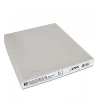 "C-Line 8-1/2"" x 11"" Top-Load No-Hole Heavyweight Poly Sheet Protectors, 25/Box"