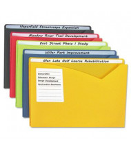 "C-Line Write-On 1"" Expansion Letter Poly File Jackets, 25/Box"