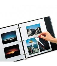 "C-Line 9"" x 11"" Redi-Mount Self-Adhesive Photo Storage Sheets, 50/Box"