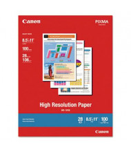 "Canon 8-1/2"" x 11"", 28lb, 100-Sheets, Matte High Resolution Inkjet Paper"