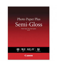 "Canon 8-1/2"" X 11"", 69lb, 50-Sheets, Semi-Gloss Photo Paper"