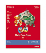 "Canon 8-1/2"" x 11"", 8.5 mil, 50-Sheets, Matte Plus Photo Paper"