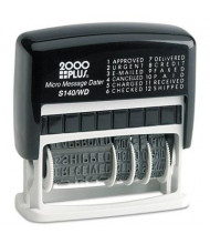 2000 Plus Self-Inking Micro Message Dater, Black Ink