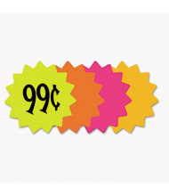 "Cosco 4"" Round Die Cut Paper Signs, 60-Pack"