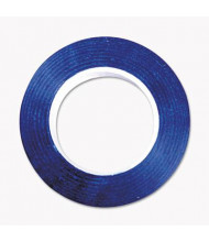 "Cosco 1/4"" x 9 yds Art Tape, Blue Gloss"