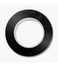 "Cosco 1/8"" x 9 yds Art Tape, Black Gloss"
