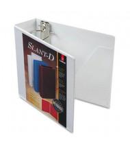 "Cardinal 3"" Capacity 8-1/2"" x 11"" Slant-D Ring SuperStrength View Binder, White"