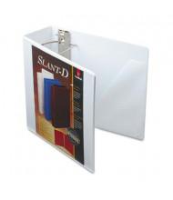 "Cardinal 4"" Capacity 8-1/2"" x 11"" Slant-D Ring SuperStrength View Binder, White"