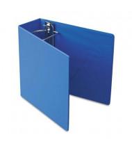 """Cardinal 4"""" Capacity 8-1/2"""" X 11"""" SuperStrength Slant-D Non-View Binder, Blue"""