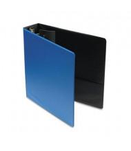 "Cardinal 2"" Capacity 8-1/2"" X 11"" EasyOpen Locking Non-View Binder with Label Holder, Medium Blue"
