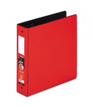 """Cardinal 2"""" Capacity 8-1/2"""" X 11"""" EasyOpen Locking Non-View Binder with Label Holder, Red"""