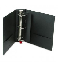 "Cardinal 3"" Capacity 8-1/2"" X 11"" EasyOpen Locking Non-View Binder with Label Holder, Black"