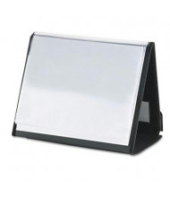 "Cardinal 20-Sleeve 8-1/2"" x 11"" ShowFile Horizontal Easel Presentation Book, Black"