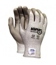 MCR Safety Memphis Dyneema Large Polyurethane Work Gloves, White/Gray