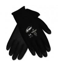MCR Safety Memphis Ninja HPT Medium PVC Coated Nylon Gloves, Black