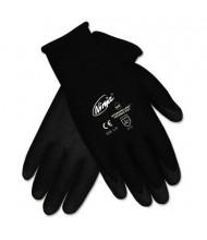 MCR Safety Memphis Ninja HPT X-Large PVC Coated Nylon Gloves, Black
