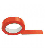 """Champion 1"""" x 36 yds Sports Floor Tape, Red"""
