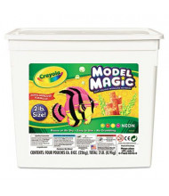 Crayola Model Magic Modeling Compound, Assorted Neon, 4/Pack